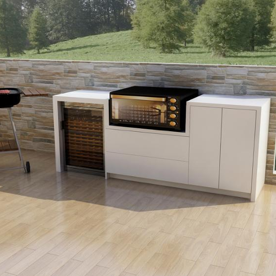 New Metal Kitchen Cabinets: New Design Outdoor Kitchen Stainless Steel Outdoor Kitchen