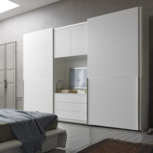 Folding Bedroom Wardrobe Cabinet