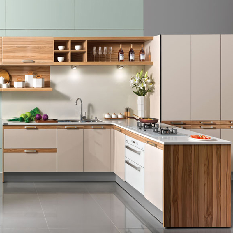 Kitchen Cabinet Set: 2019 New Design Whole Modular Kitchen Cabinet Set