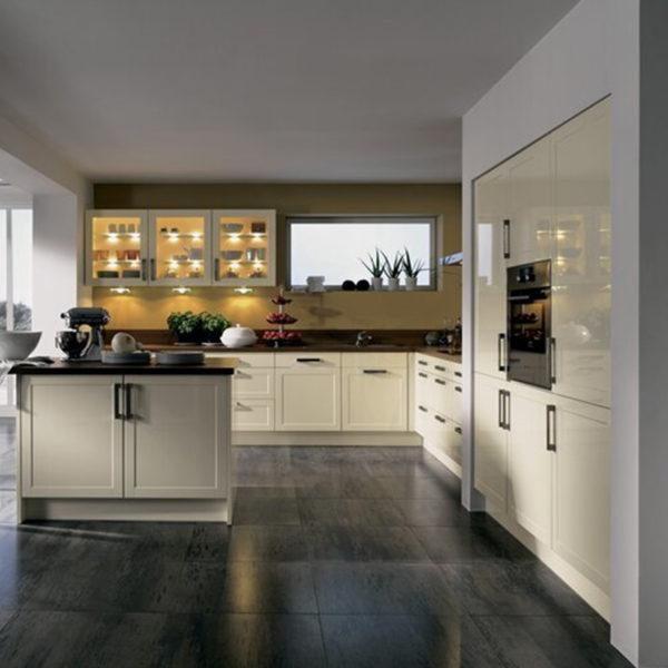 wood modular kitchen cabinets