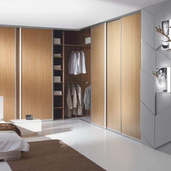 Melamine Modern Sliding Wardrobe Design