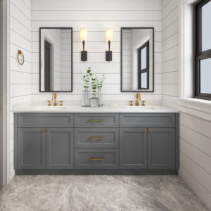 New Design Wooden Bathroom Cabinet Vanity Bathroom Furniture