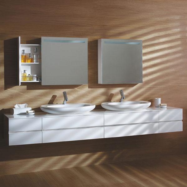 MDF Bathroom Storage Cabinets PVC Bathroom Cabinet