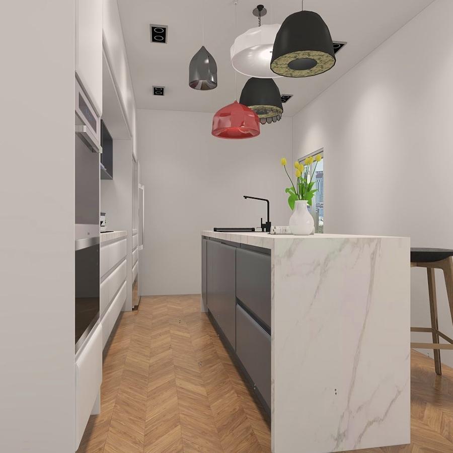 New Home Designs Latest Modern Home Kitchen Cabinet: New Design Kitchen Cabinet Lacquer Modern Modular Kitchen
