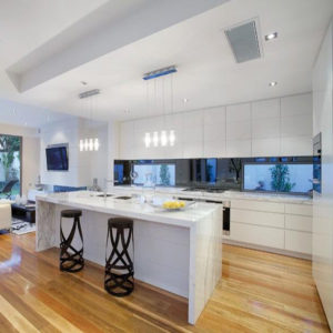 New Design Lacquer Modern Modular Kitchen