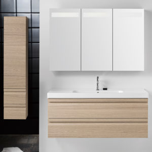 New Design Modern PVC Bathroom Cabinets Bathroom Vanity