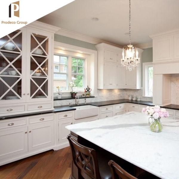 White Shaker Wooden Kitchen Hanging Cabinet
