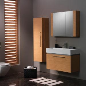 Simple Bathroom Furniture New Design PVC Bathroom Cabinet