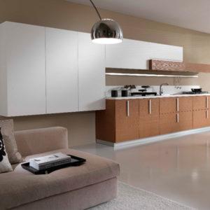 Well Designed Modern White kitchen cabinet