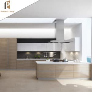 laminate RTA kitchen cabinet