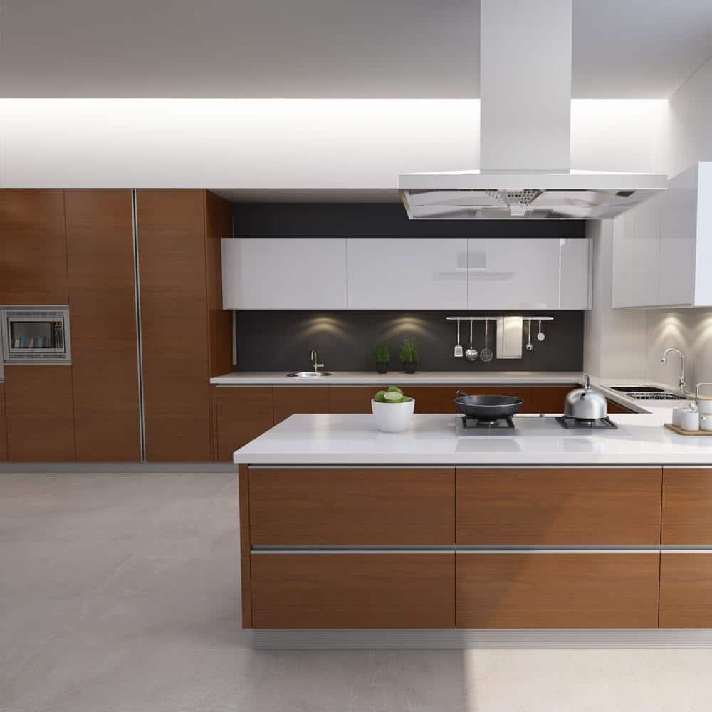 Best Sale Laminate RTA Kitchen Cabinet Prefabricated ...