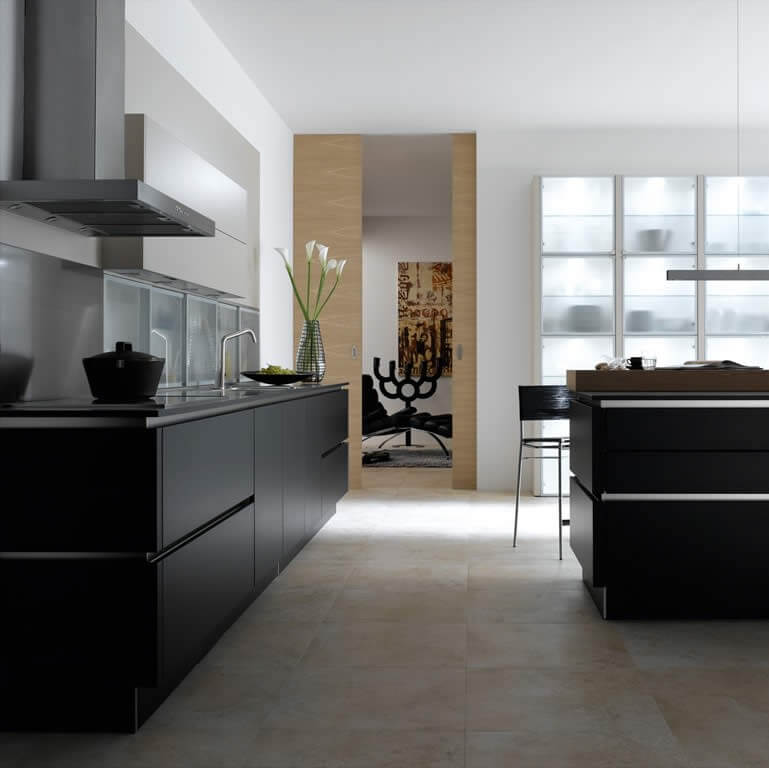 European High End Knock Down Kitchen Cabinets With Accessories