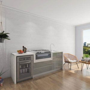 outdoor kitchen cabinet