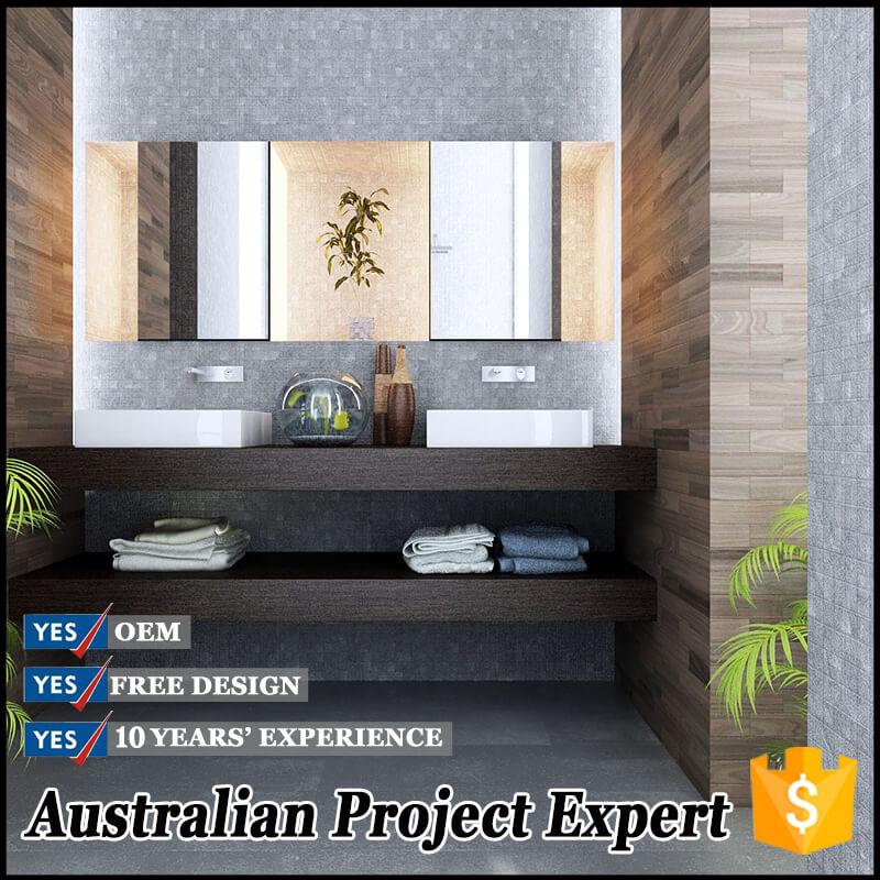 Simple Design Bathroom Vanity Cabinet With Double Sink