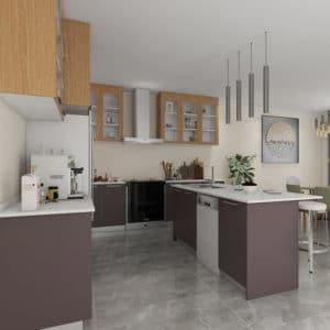 wood kitchen furniture
