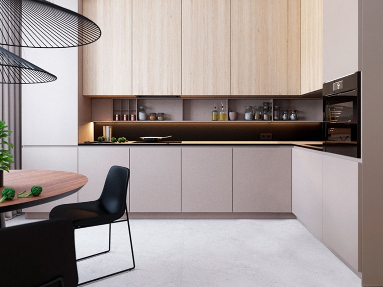 Before Installing The Kitchen Cabinets, How To Properly Hang Kitchen Cabinets