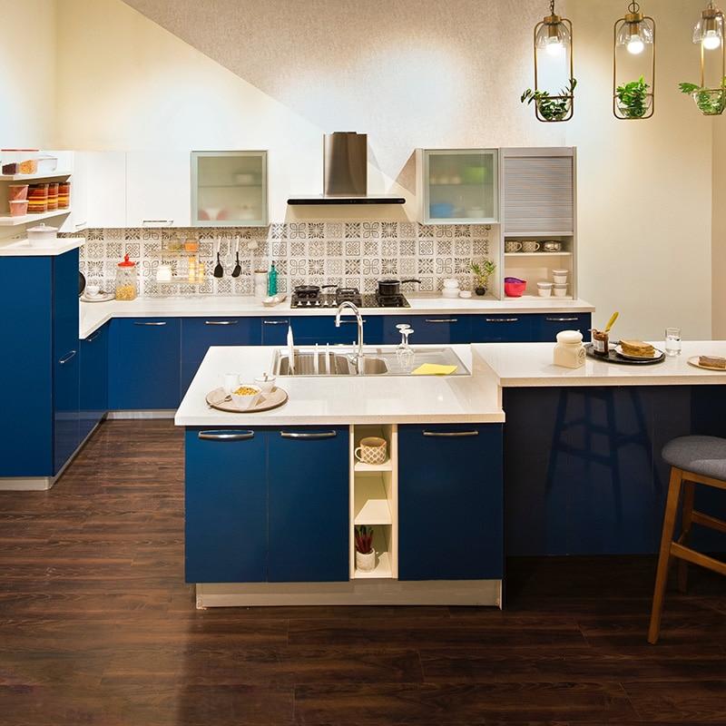 Contemporary Kitchen Design Antique White Cabinets ...