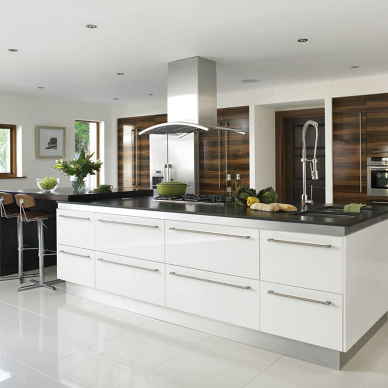 Melamine Kitchen Cabinets Mdf Kitchen Cabinets Wood Pantry ...