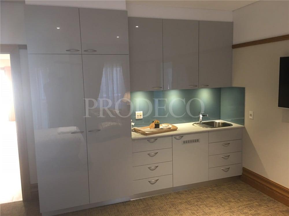 Customized Design Wholesale Acrylic Kitchen Cabinet